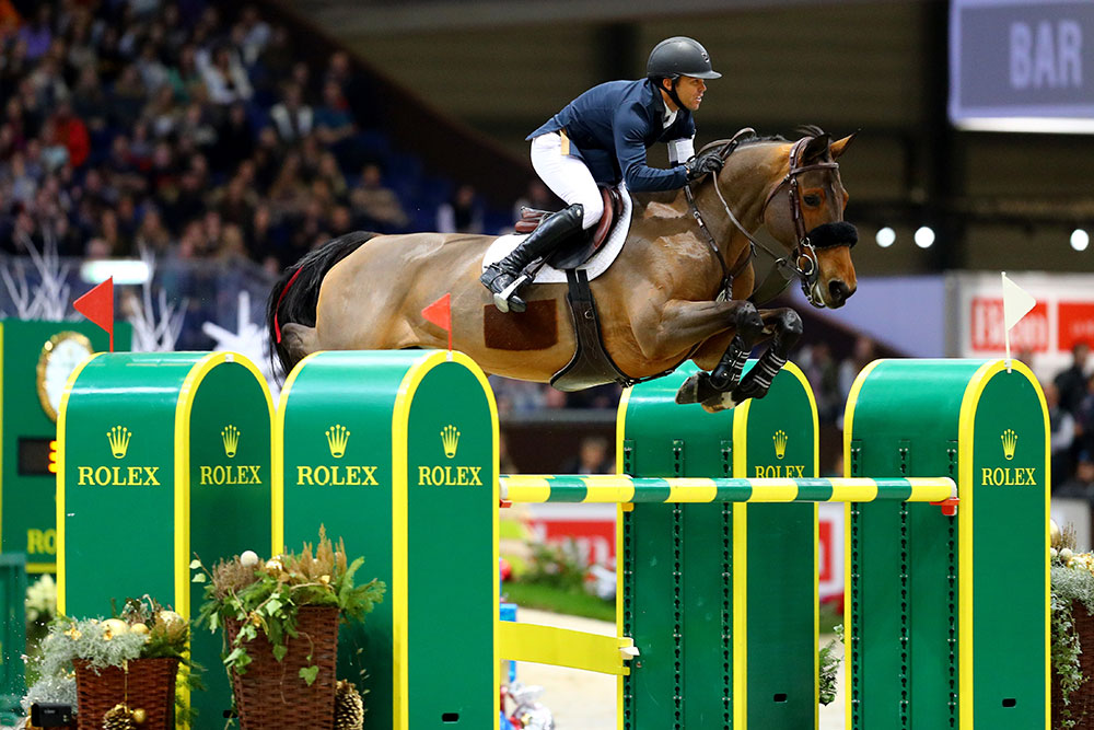 Kent Farrington (USA) riding Robin Parsky's mare Gazelle (photo: CHIG).