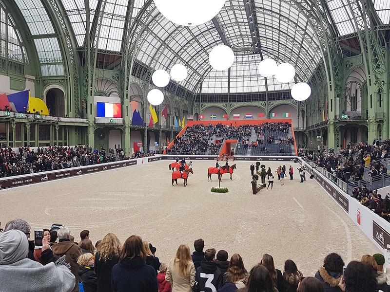 Saut Hermès - Grand Palais - Paris (FRA) - Credit: Xavier Boudon.