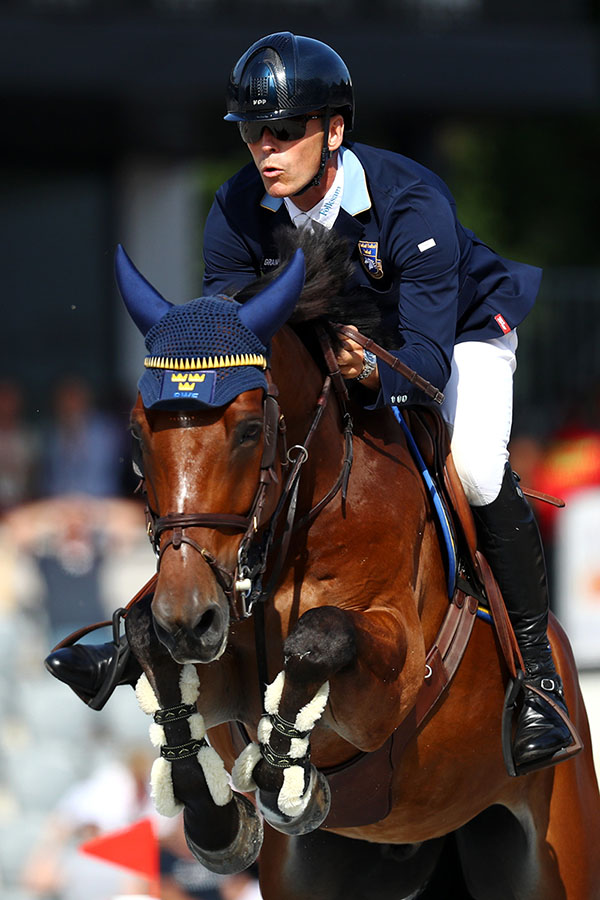 Peder Fredricson & H&M All In (Photo by Dean Mouhtaropoulos/Getty Images for FEI)